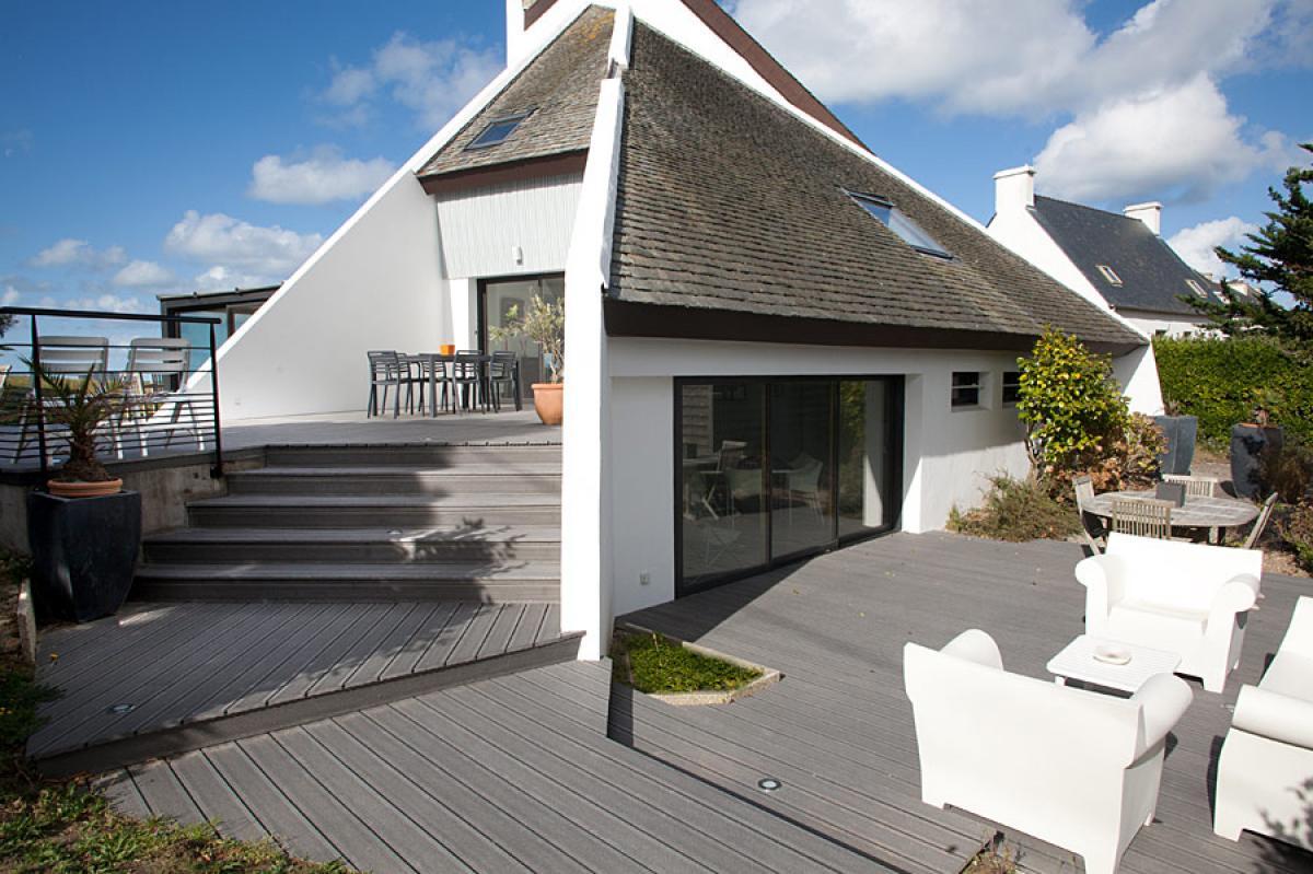 Extension de maison à Santec, dans le Finistère