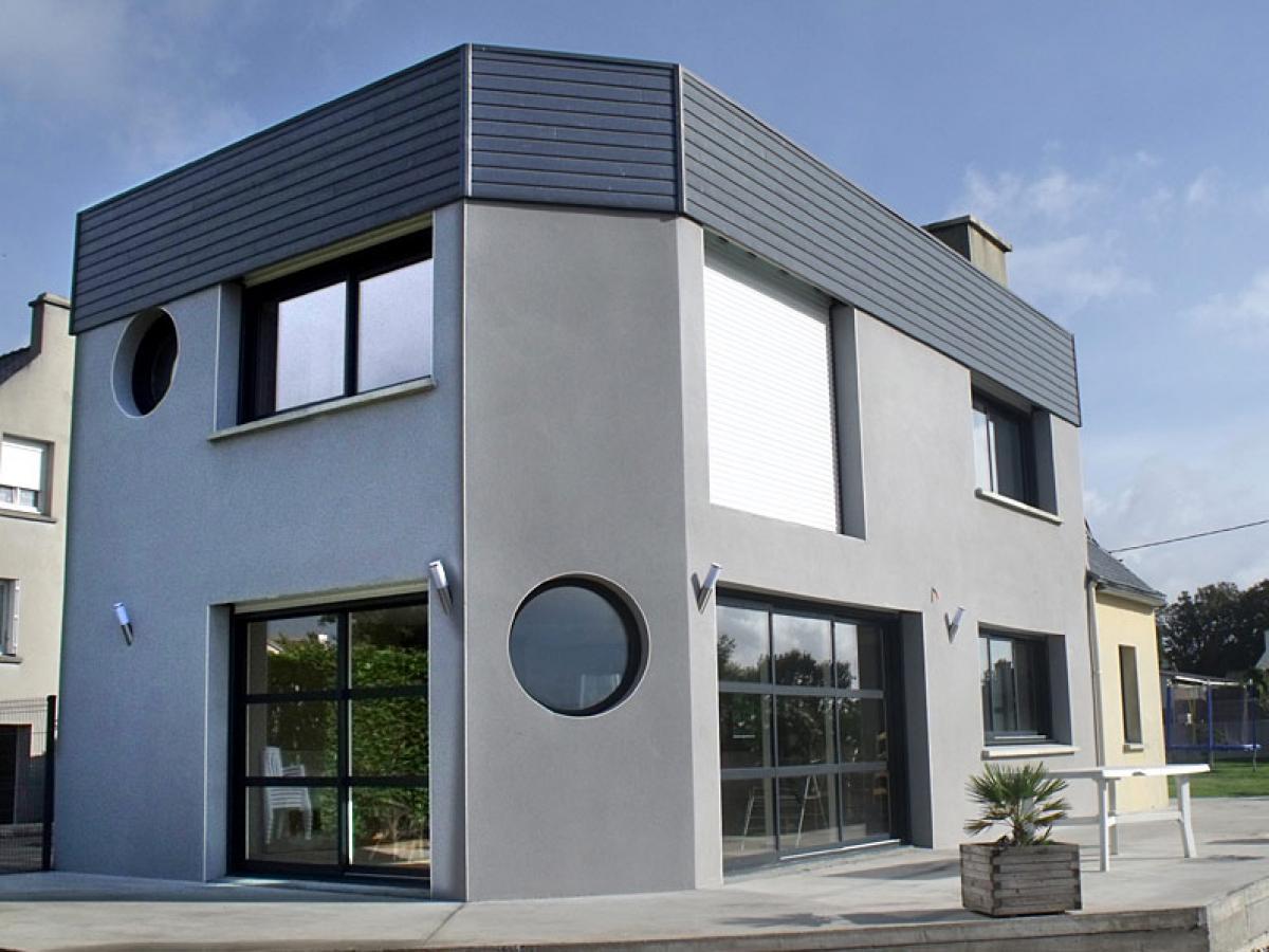 Extension maison à Landivisiau