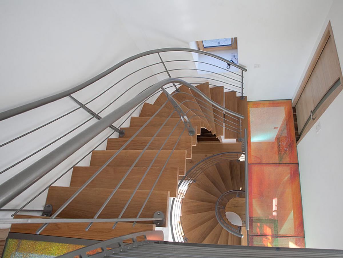 Escalier à Morlaix