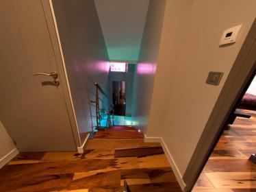Agencement escalier et parquet Morlaix