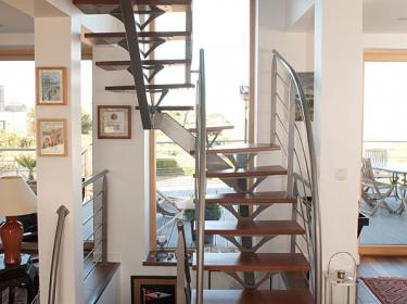 Escalier à Carantec