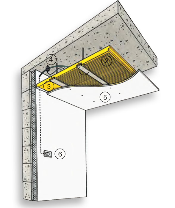 l 39 installation du chauffage par rca weber de morlaix. Black Bedroom Furniture Sets. Home Design Ideas